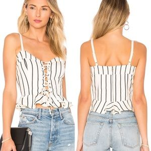 Lovers + Friends NWT Women's Stacey Top S